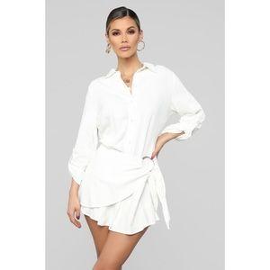Fashion Nova Shirt Dress